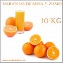Naranjas Mezcla Mesa y Zumo 10 KG