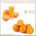 Naranjas Mezcla Mesa y Zumo 15 KG